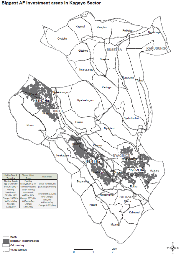 Agroforestry Investment Map